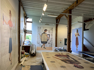 Video documentary: Sam and Adele Golden Foundation Residency, Made in Paint exhibition